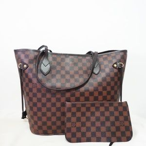 Louis Vuitton neverfull damier ebene